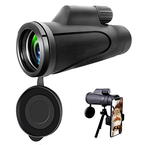 Find Cheap Monocular Telescope, 16X50 High Power Prism Monocular Scope with Smartphone Adapter, Wate...