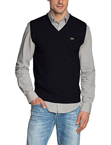 Lacoste Herren Ah2998 Pullover, Blau (Marine 166), Small (Herstellergröße: 3)