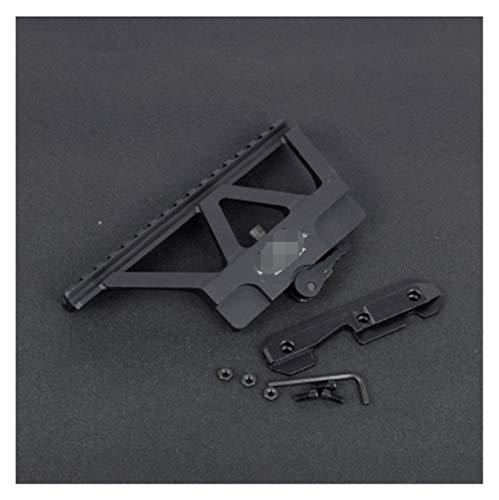 HXF Hxfang® Tactical CNC RÁPIDO RÁPIDO RÁPIDO AK Rail ROIL Red Dot Soporte DE ALCANTAMIENTO para AK 47 AK 74 Caza Airsoft Rifle Gun Accessories Base Picatinny (Color : B)