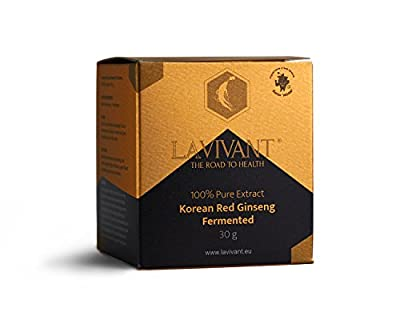 Korean Fermented Red Ginseng Extract, 110mg/g, 30 Days