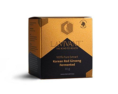 Extrait Fermenté du Ginseng Rouge de Corée, 110mg/g, 30 Jours