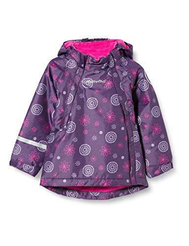 MINYMO Girls Snow Oxford Jacket, Loganberry, 104