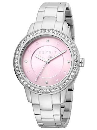 Esprit ES1L163M0075 Harmony Uhr Damenuhr Edelstahl 5 bar Analog Silber