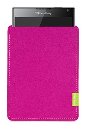WildTech Sleeve für BlackBerry Passport Hülle Tasche - 17 Farben (Handmade in Germany) - Pink