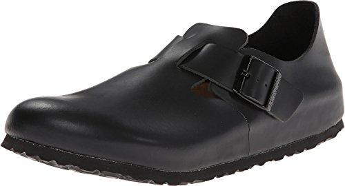 Birkenstock Unisex London European Loafer Hunter Black Size 47 EU (14-14.5 M US Men)