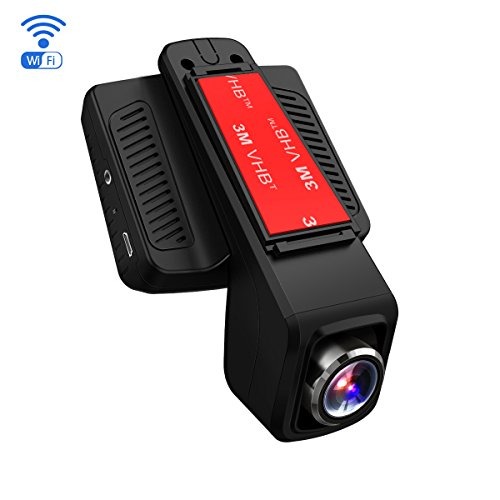 TOGUARD Dash Cam WiFi Full HD 1080P Dashboard Camera 2.45' LCD Car Recorder 170 Degree Wide Angle...