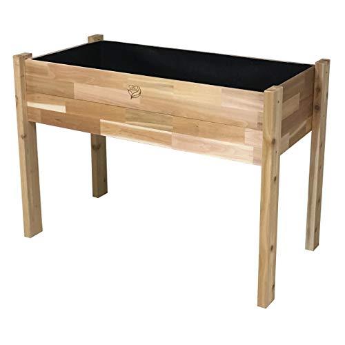 Gro Products 18-EGB3-2448 Elevated Garden Bed, 48 x 24 x 34, Cedar