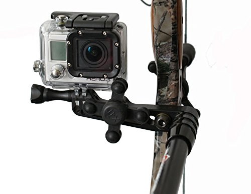 Bowfinger Archery ZX5 Bow Camera Mount with BOWJAX Compatible with GoPro Cameras