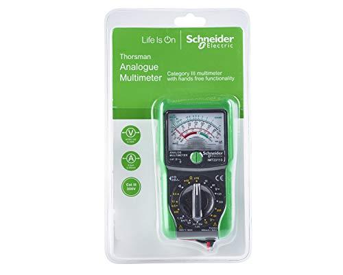 Schneider Electric IMT23112 - Interruttore digitale Thorsman Cat 3, Analogue Multi-Meter, Verde/grigio.