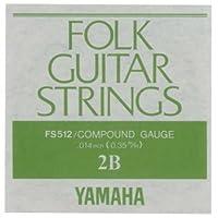 YAMAHA FS512 アコースティックギター用 バラ弦 2弦×6本セット