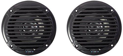 """Jensen MS5006BR Black 5.25"""" Dual Cone Waterproof Speakers"""