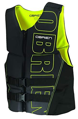 O'Brien Men's Flex V-Back Life Jacket, Yellow, Large