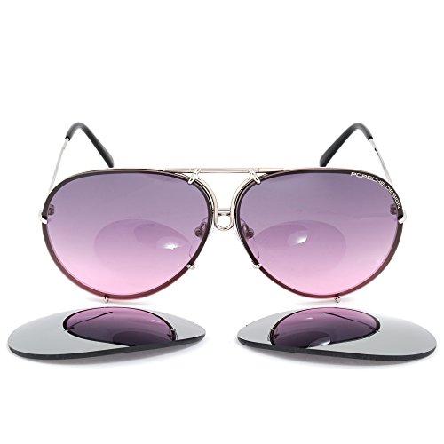 Porsche Design unisex gafas de sol P8478, M, 66