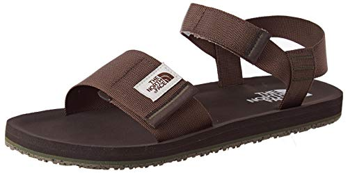 The North Face Mens SKEENA Sandal, Walking Shoe, Marrone, 44.5 EU