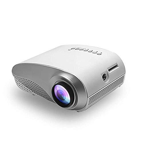 JFZCBXD Mini proyector Multimedia portátil Ayuda del proyector 1080P / HDMI/VGA/AV/USB/TF Tarjeta s Alta de vídeo HD llevó el proyector para Cine en casa Juego/TV/DVD/Películas al Aire Libre