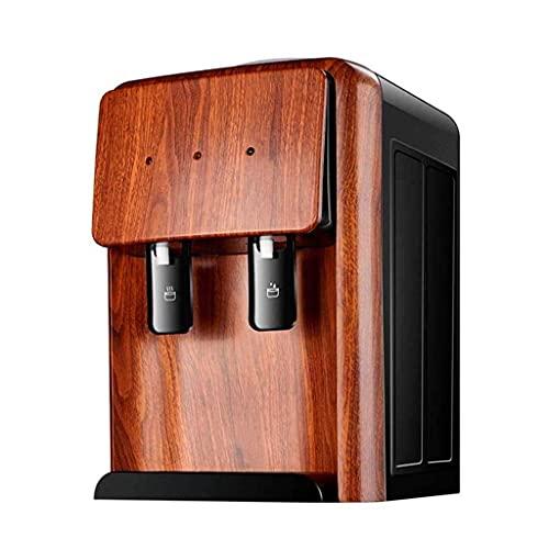 Dispenser d Acqua-Desktop Refrigerazione Domestica Riscaldamento Dispenser d Acqua per scaldabagno a Grana di Legno Piccolo