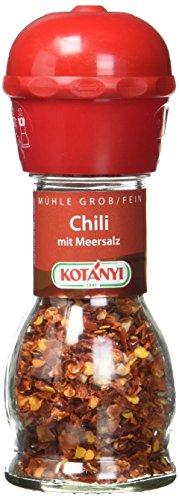 Kotanyi Chili mit Meersalz Mühle 35 g, 1er Pack (1 x 0.035 kg)