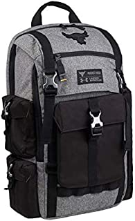 Under Armour Project Rock Bag Gray UA Regiment Laptop Backpack