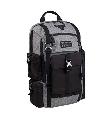 Under Armour Project Rock Bag Gray UA Regiment Laptop Backpack