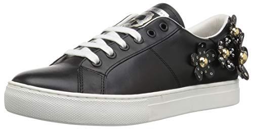 Marc Jacobs Women's Daisy Studded Sneaker, Black, 36 M US