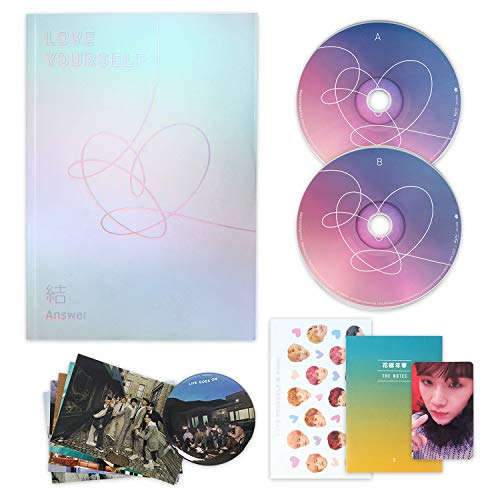 BTS Album - LOVE YOURSELF 結 ANSWER [ S ver. ] 2CD + Photobook + Mini Book + Sticker Pack + FREE GIFT / K-POP Sealed
