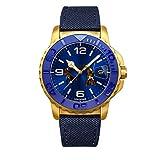 [アンダーン] 腕時計 スター・ウォーズ アナキン・スカイウォーカー/オビ=ワン 特別カスタム SW-T1009 ブルー