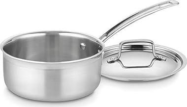 Cuisinart 1.5 Qt Saucepan W/Cover-Multiclad Pro Mcp1916 N