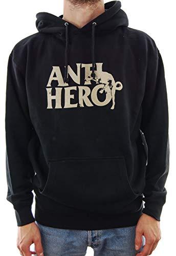Antihero Dog Humpblack Hoodie Sweat à Capuche Noir - Noir - Medium