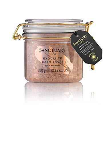Sels de bain Sanctuary Spa, éclat or rose exquis...