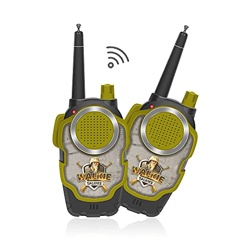 RVEE Long Range Walkies Talkies 2 Pack with Clear Sound for Kids Toddlers Adults Toys, Children 2 Way Radio Kid Toy Best Festival Gifts for Kids Boys Girls