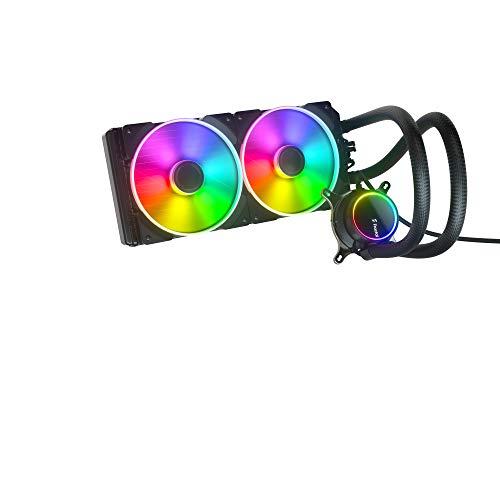 Fractal Design Celsius+ S28 Prisma 簡易水冷CPUクーラー 280mm FD-W-2-S2802 HS1366