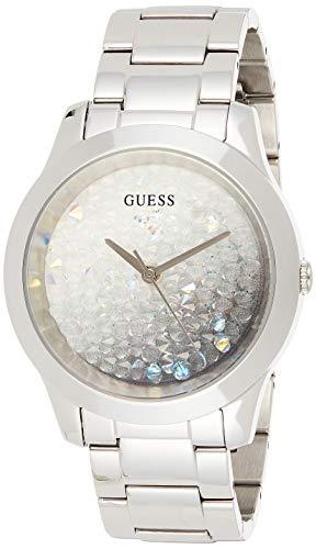 GUESS Damen analog Uhr mit Edelstahl Armband GW0020L1
