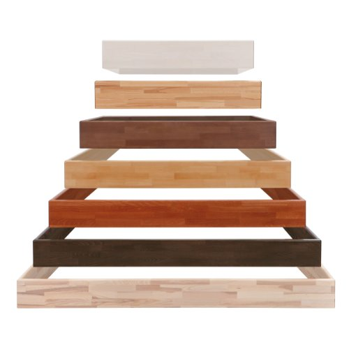 Hasena Bettrahmen Wood-Line Premium (Buche Natur, 160x200 cm)