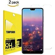 Babawo [2 Stück]Für Huawei P20 Pro Schutzfolie, [HD Anti-Öl][9H Härte][Blasen und Fingerabdruck][Kratzer][Einfaches Anbringen] Panzerglasfolie Displayschutzfolie für Huawei P20 Pro