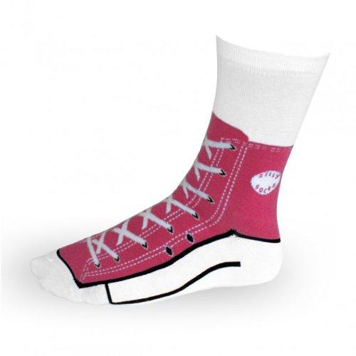 Bluw Sneaker Socken pink - Silly Socks Sneakers Turnschuhe