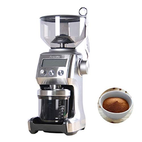 Why Choose Red tide 220V Intelligent Electric Coffee Grinder DIY Grinding Coffee Beans Commercial Es...