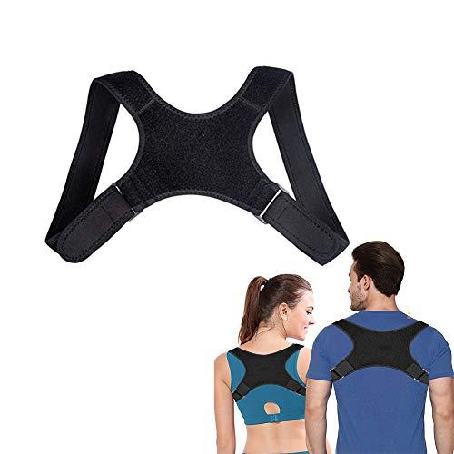TIANXIAN Corrector de Postura, Ajustar el Sentado Enderezar de la Espalda, Ideal para Aliviar el Dolor de Cuello y Hombro para Hombre y Mujer, Aliviar la Joroba para Mujer e Hombres