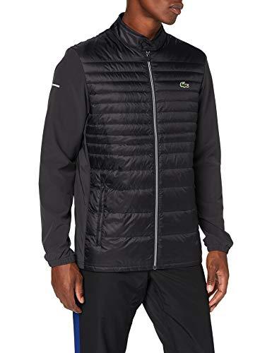 Lacoste Sport BH0081 Abrigo de Vestir, Negro/Negro-Negro, 60 para Hombre