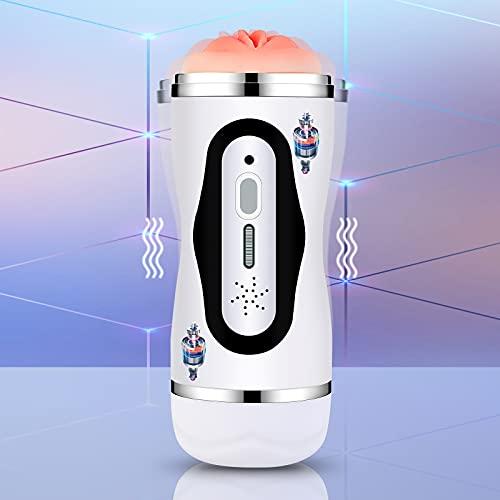 Kit de masaje eléctrico 2 en 1, 10 frecuencias,...