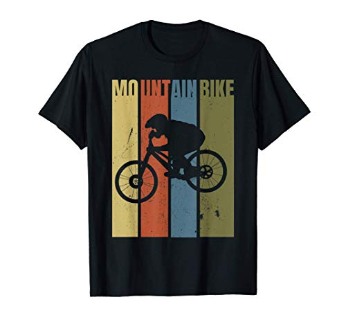 Mountainbike Geschenk Downhill Mountainbiker Trikot T-Shirt