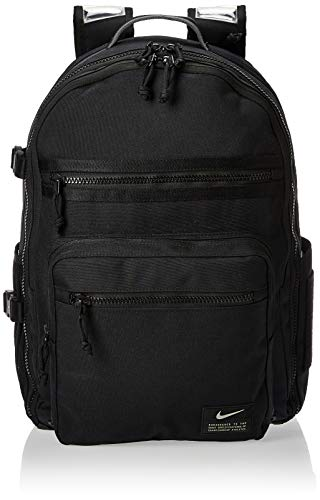 NIKE Nk Utility Power Bkpk Sports Backpack, Hombre, Black/Black/(Enigma Stone), MISC
