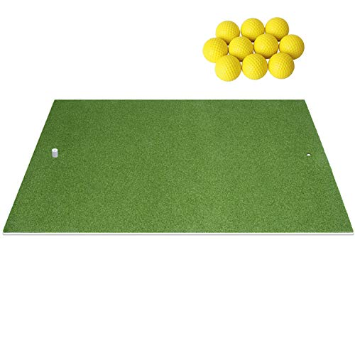 SkyLife Golf Practice Mat 4' x 5' Driving Chipping Putting Hitting Turf Training Equipment for Backyard Home Garage Outdoor Use (4' x 5')