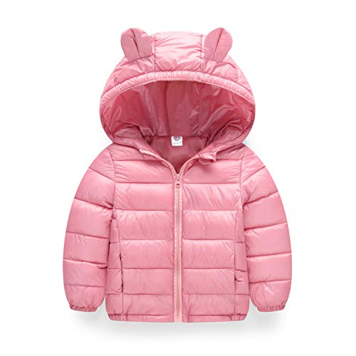 Guy Eugendssg Infant Coat Autumn Winter Baby Jackets for Baby Boys Jacket Kids Warm Outerwear Coats Pink 6M