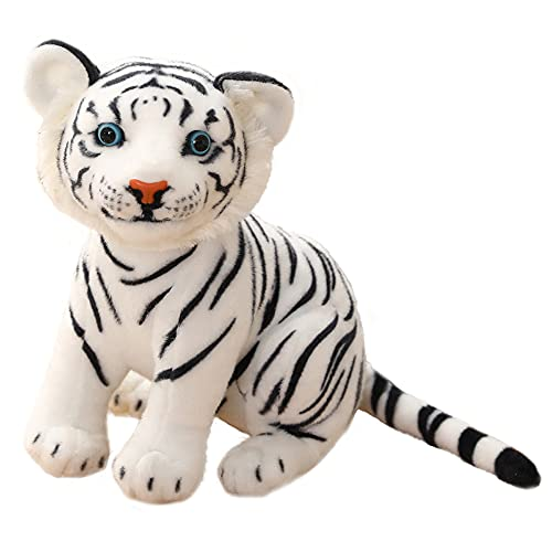 LRBHSH Animal De Peluche De Tigre Realista Lindo Gato Grande Realista Juguete De Felpa Kawaii Animales Peluches para Niños Amigos Niños Niñas Y Familia