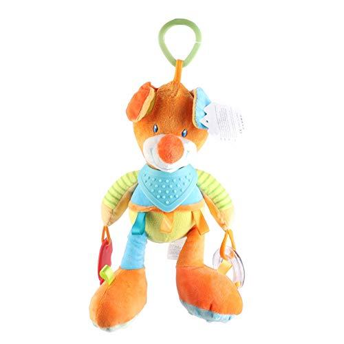 Eurobuy Juguetes colgantes para bebés con sonajeros, cochecito de bebé para colgar juguete para cuna, cama sonajero para bebés y niñas de 0 a 3 años