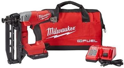 Milwaukee Electric Tool 2741-21CT Milwaukee M18 Fuel 16 Gauge Straight Finish Nailer, Plastic, 1