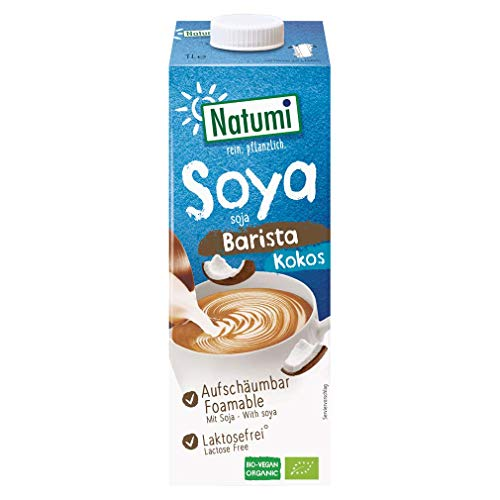 Natumi Bio Barista Kokos Soja Milchalternative 12er Pack (12 x 1L)