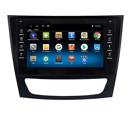 Radio de Coche Android 10 Compatible con Mercedes-Benz W211 / W463 / W209 / W219 Soporte estéreo de 8 Pulgadas Bluetooth WiFi USB Mirror Link GPS Navi 1080P Control del Volante