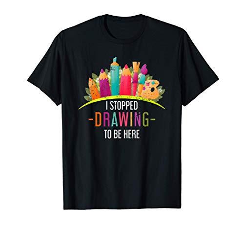 Escuela De Arte Regalo Divertido Para El Estudiante Artista Camiseta