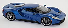 Model: 2017 Ford GT. Manufacturer: Maisto. Color: Blue. Scale: 1: 18. Official licensed product.